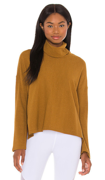 Free People X FP Movement Can't Handle This Turtleneck in Brown