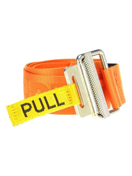 Heron Preston Industrial Belt in orange