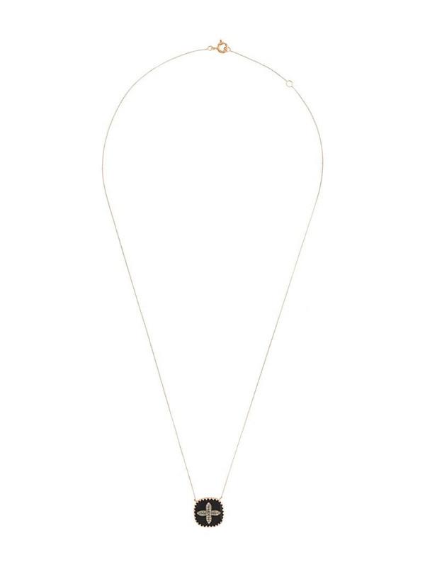 Pascale Monvoisin 9kt rose gold BOWIE BLACK DIAMOND necklace