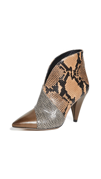 Isabel Marant Archenn Booties in camel