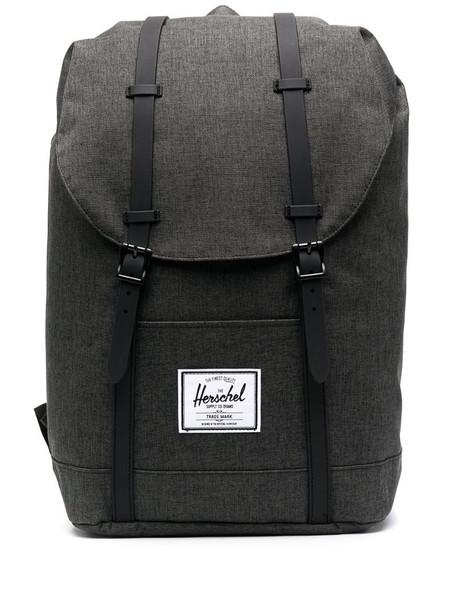 Herschel Supply Co. Retreat buckled backpack in grey
