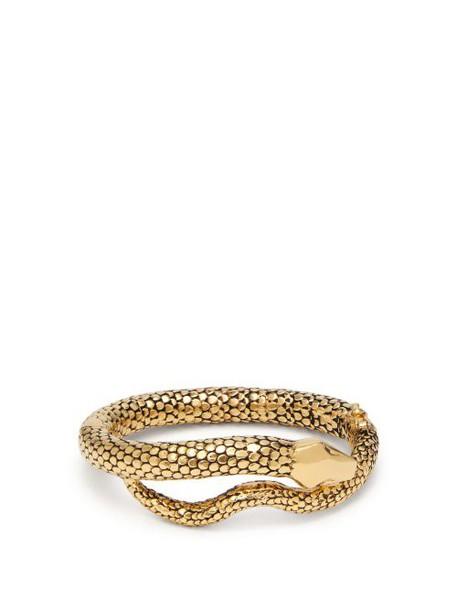 Aurélie Bidermann - Gold Plated Tao Snake Bracelet - Womens - Gold