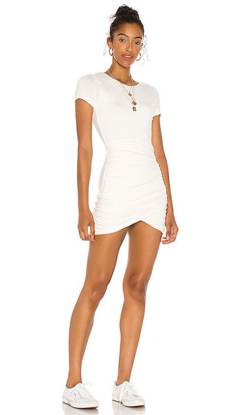 Lovers + Friends Lovers + Friends Sydnee Mini Dress in White