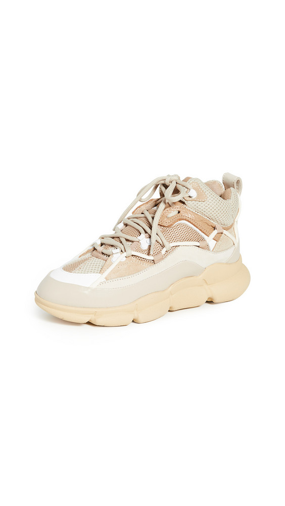Polly Plume PGT Tech Sneakers in camel