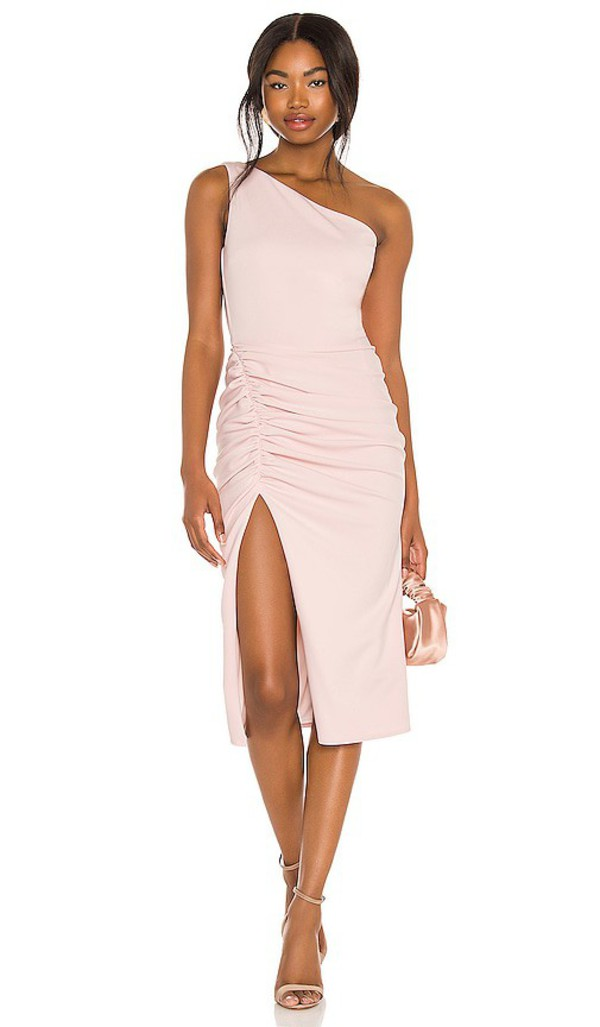 Katie May X REVOLVE New Age Dress in Pink in blush