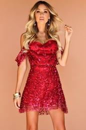 dress,red prom dress,tulle dress,deep v dress,glitter,embroidered,embellished