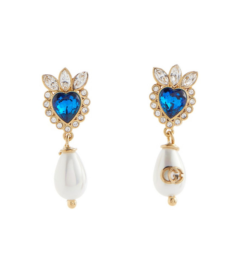 Gucci Embellished earrings in gold