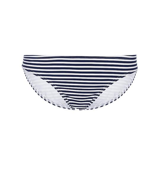 Tory Burch Striped bikini bottoms in blue