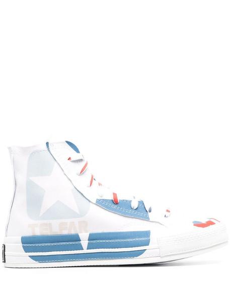 Telfar x Converse sneakers in white