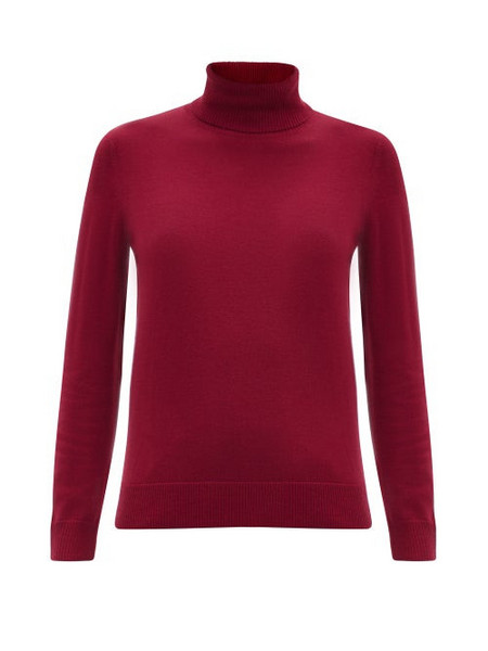 A.P.C. A.P.C. - Sandra Roll-neck Sweater - Womens - Red