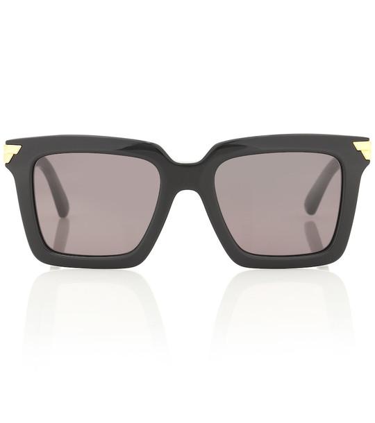 Bottega Veneta Square acetate sunglasses in black
