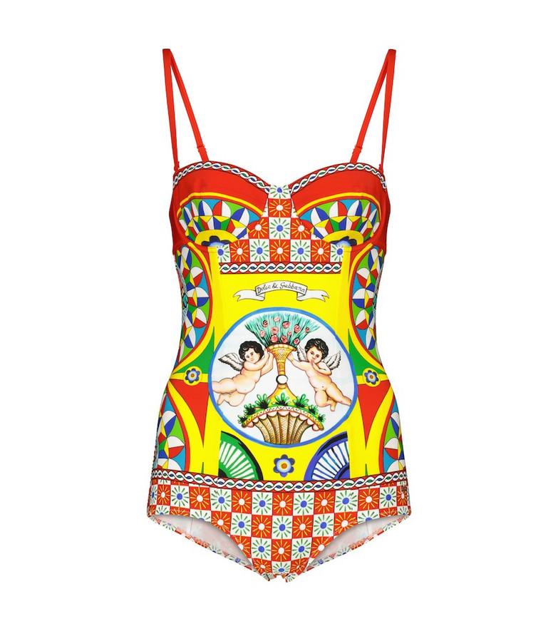 Dolce & Gabbana Printed swimsuit
