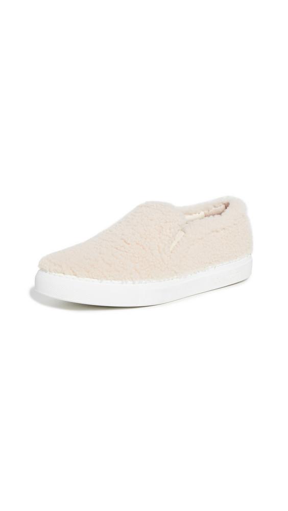 Aquazzura Relax Slip On Sneakers in cream