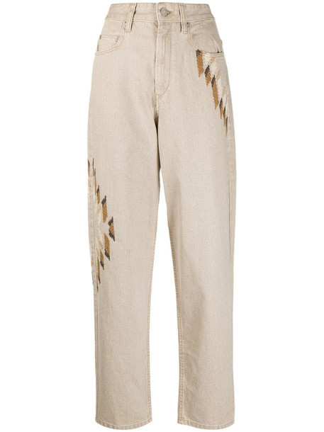 Isabel Marant Étoile Corsyb jeans in brown