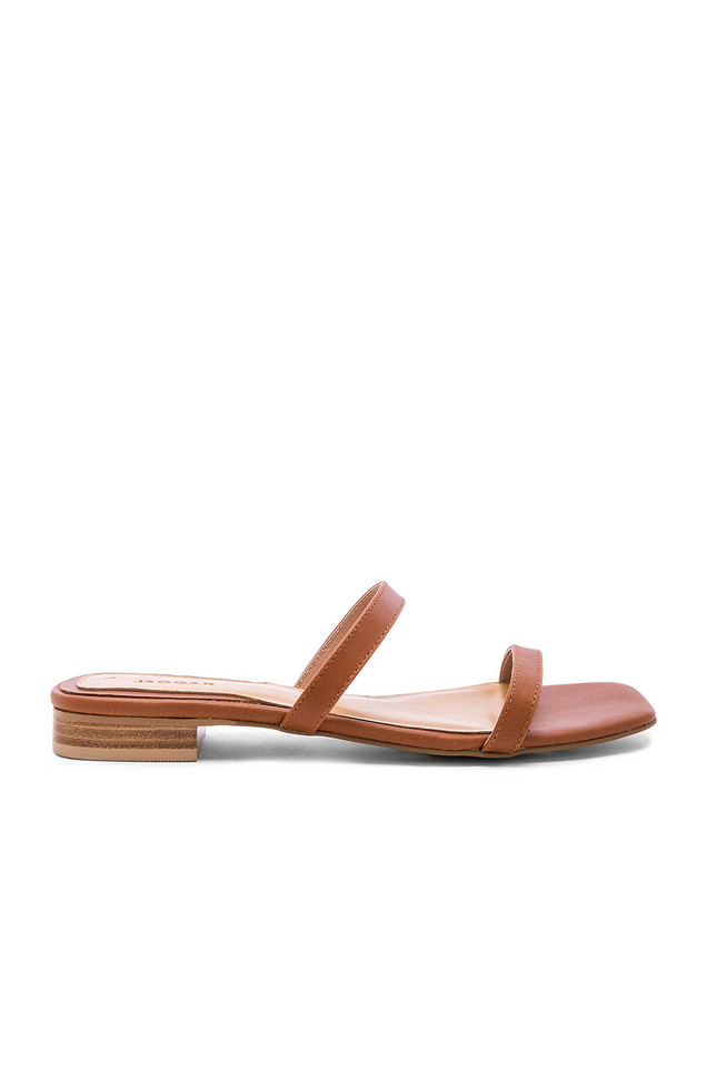JAGGAR Sprung Sandal in brown