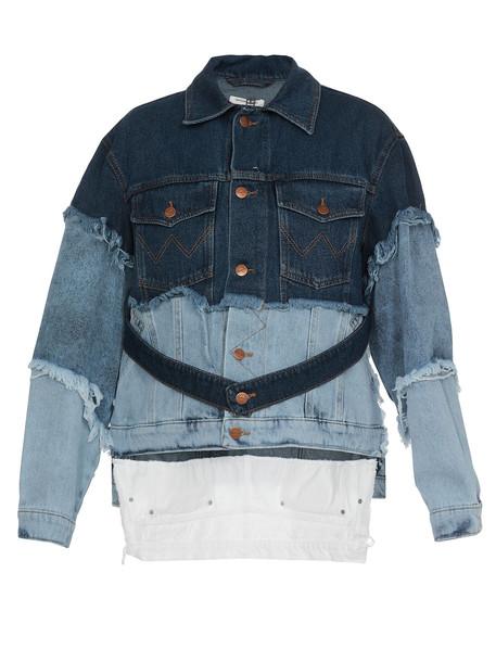 Natasha Zinko Jeans Jacket Natasha Zinko X Wrangler in denim / denim