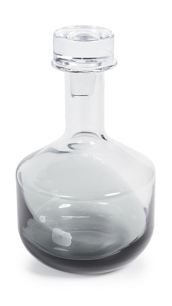 Tom Dixon Tank Whiskey Decanter in black