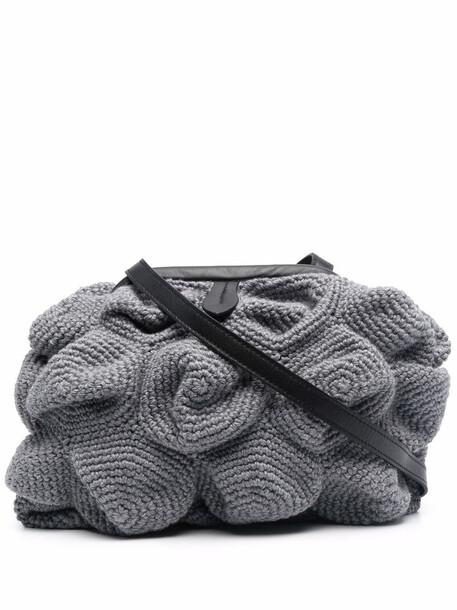 catarzi 3D-knitted crossbody bag - Grey