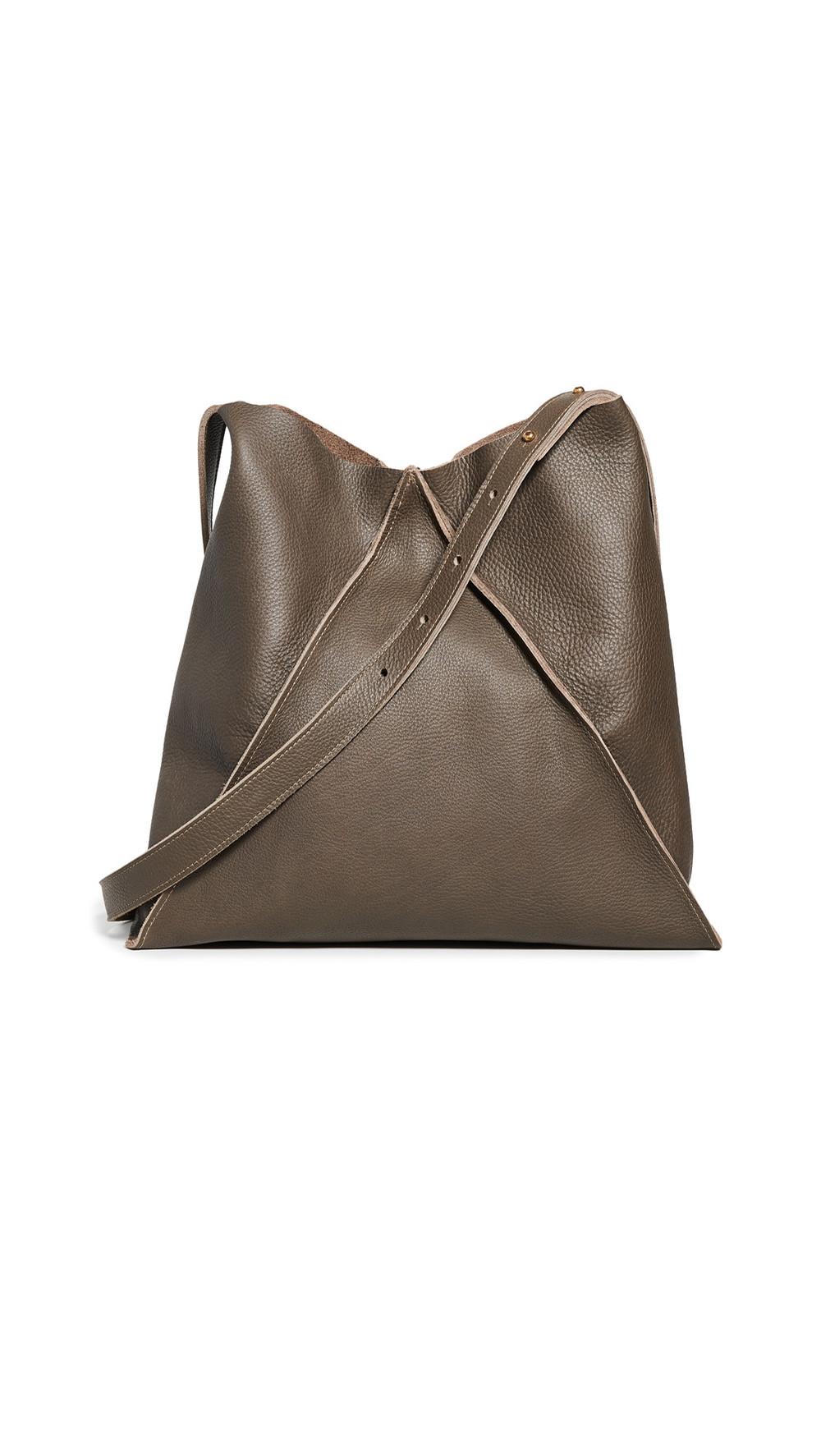 Oliveve Jasper Shoulder Bag in mushroom