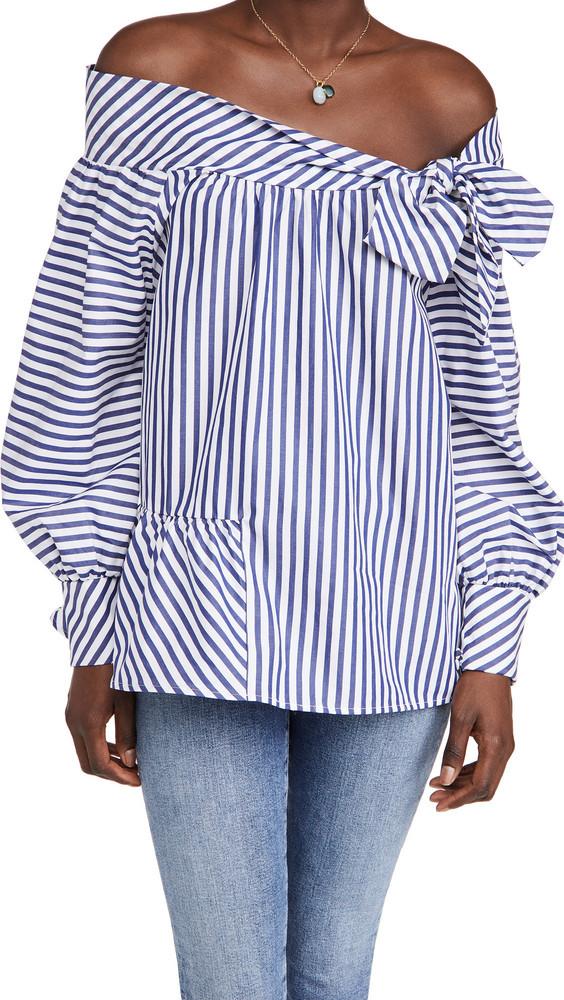 Silvia Tcherassi Parigi Shirt in blue