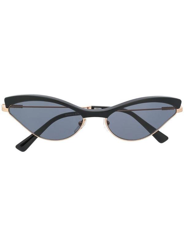 Moschino Eyewear cat eye frame sunglasses in black