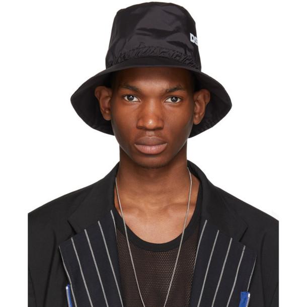 Dsquared2 Black Bionic Sport Hat