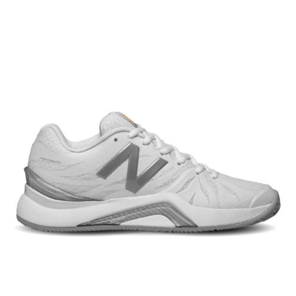 New Balance 1296v2 Women's Tennis Shoes - White/Grey (WC1296W2)