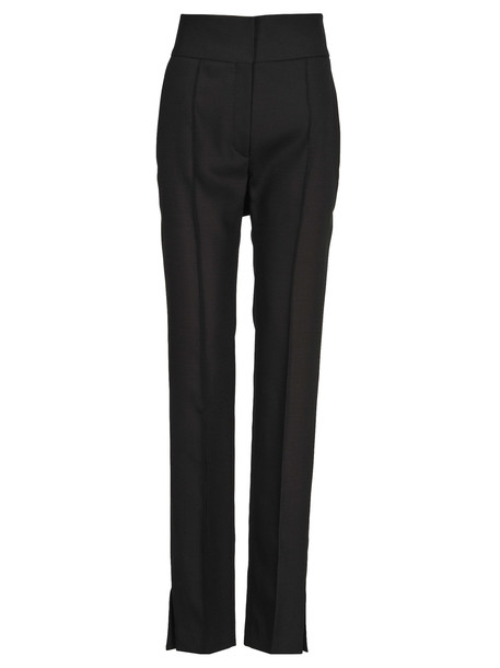 Valentino Pants High Waist Belt in black