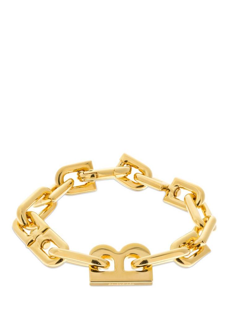 BALENCIAGA B Chain Thin Bracelet in gold