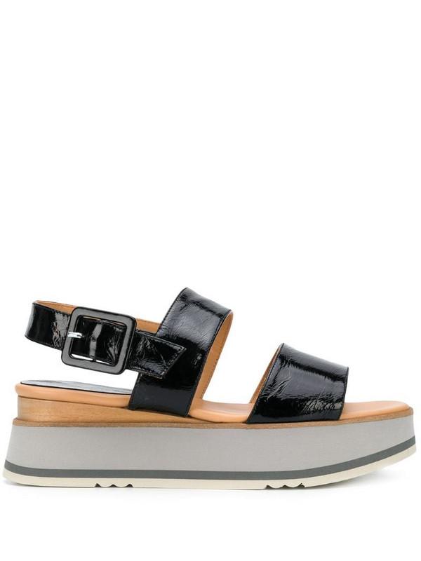 Paloma Barceló Paradis platform sandals in black