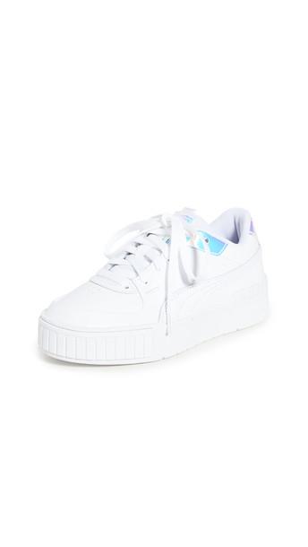 PUMA Cali Sport Glow Sneakers in white