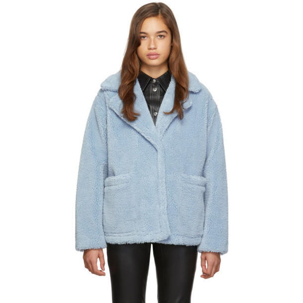 Stand Studio Blue Marina Jacket
