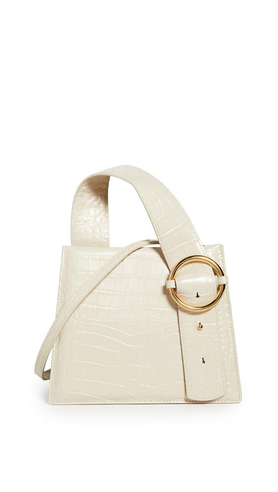 Parisa Wang Enchanted Top Handle Bag in cream