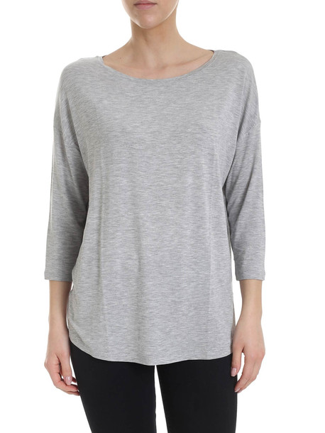 Majestic Filatures Majestic - T-shirt in grey