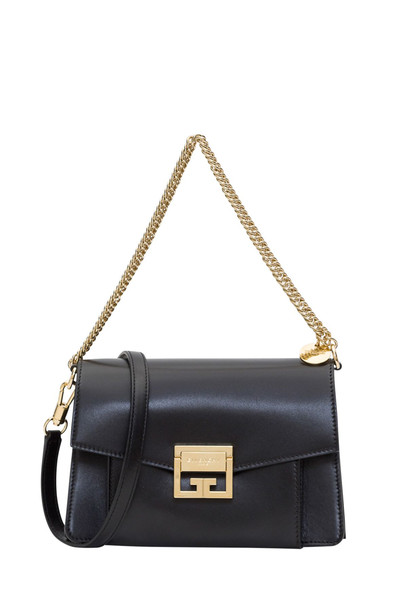 Givenchy Small Gv3 Bag In Box Leather in nero
