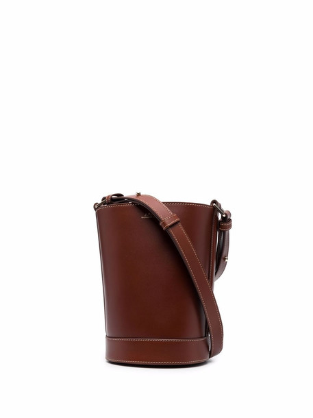 A.P.C. A.P.C. leather bucket bag - Brown