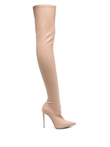 Le Silla Eva 120mm thigh-high boots in pink