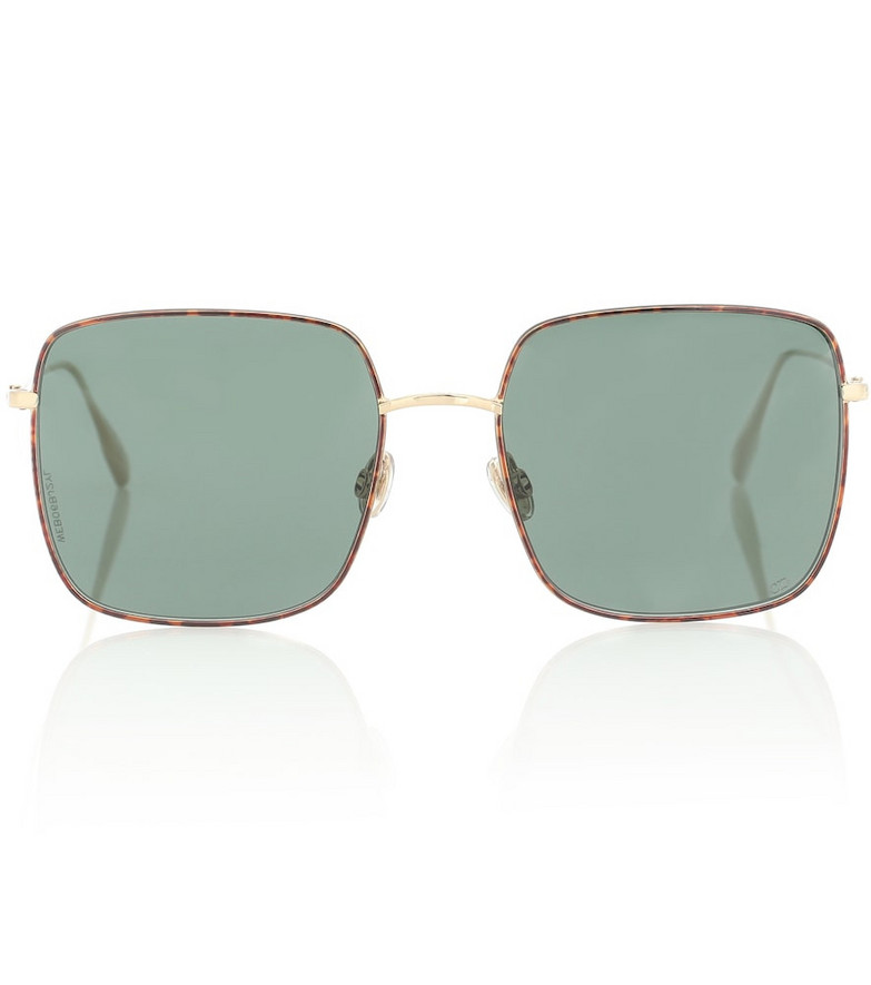 Dior Eyewear DiorStellaire1 square sunglasses in green