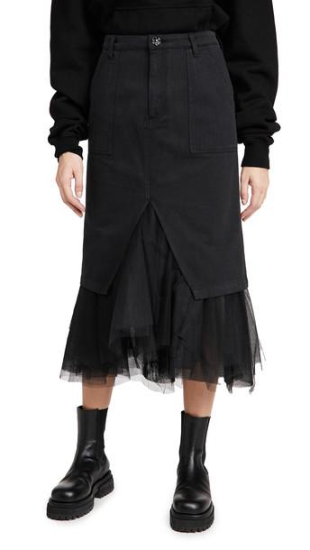 Le Superbe Ms. Benjamin Skirt in black
