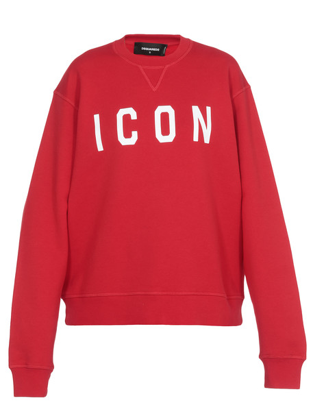 Dsquared2 Icon Sweatshirt in red