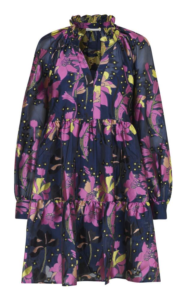 Stine Goya Jasmine Floral Mini Dress in purple