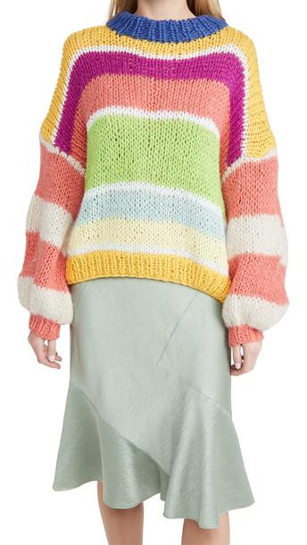CeliaB Maya Mohair Sweater in multi