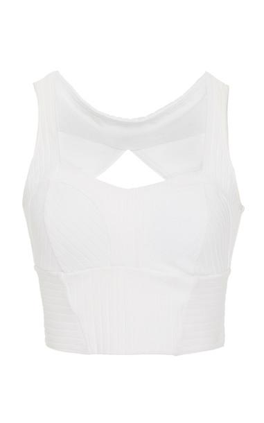 Michi Reflex Bustier in white