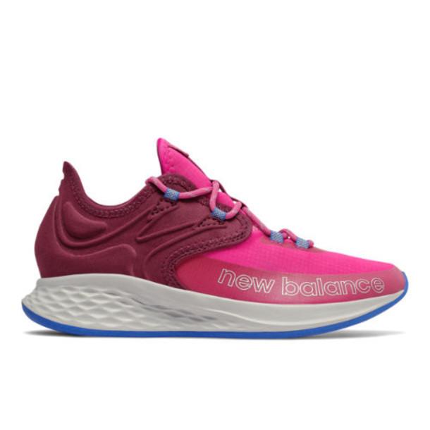 New Balance Fresh Foam Roav Trail Kids' Shoes - Pink/Red/Blue (PETROPC)