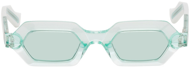 JACQUES MARIE MAGE Green Carmen Sunglasses in mint