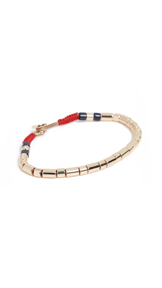 Roxanne Assoulin Peacoat U-Tube Bracelet in gold