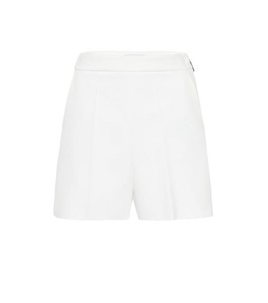 MSGM Crêpe shorts in white