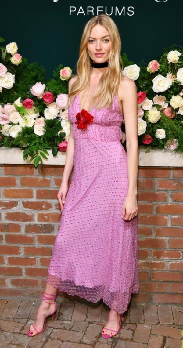 shoes sandals sandal heels martha hunt model off-duty midi dress pink pink dress