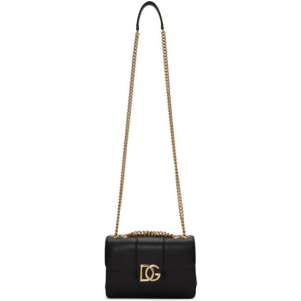 Dolce and Gabbana Black DG Shoulder Bag