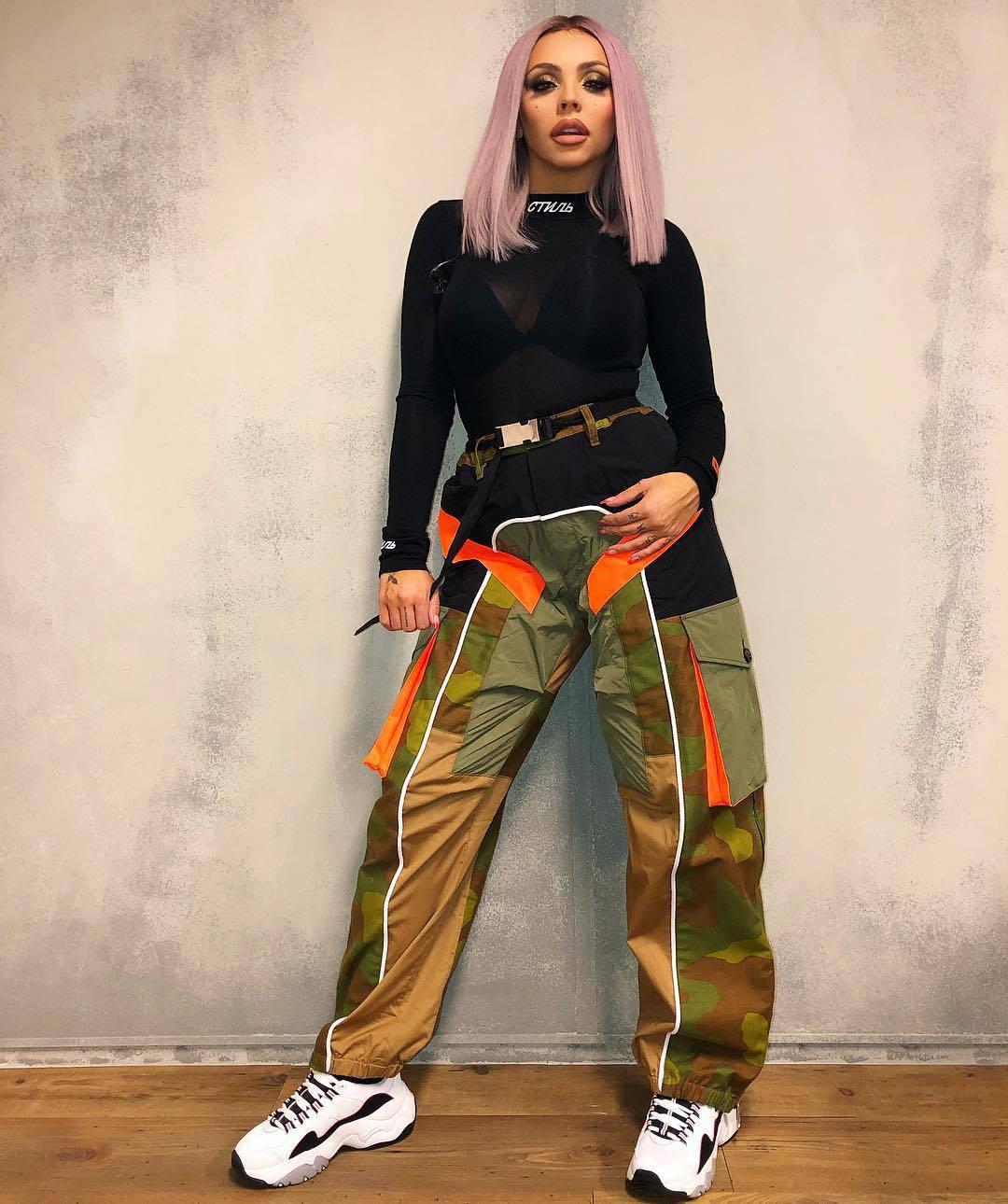 top jesy nelson celebrity little mix instagram pants bodysuit